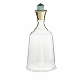 Bella Decanter | Malachite & Brass