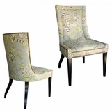 Belmont Dining Side Chair, Nailhead Trim