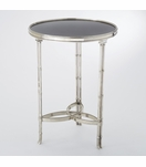 Belvedere Side Table | Small Nickel