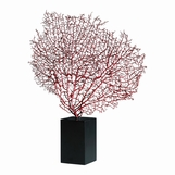Bermuda Sea Fan Sculpture | Red
