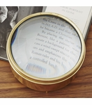 Bernini Large Magnifier | Brass
