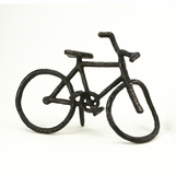 Bicycle Bronze Sculpture