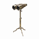 Binoculars on Tripod | Brass