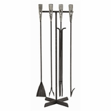 Blacksmith Iron Fireplace Tools