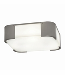 Blaine Flush Mount | Brushed Nickel