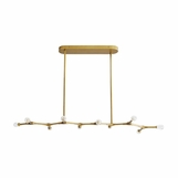 Boltman Brass Chandelier | Linear