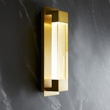Booker Sconce | Antique Brass