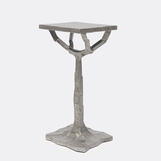 Bosque Drink Table | Silver