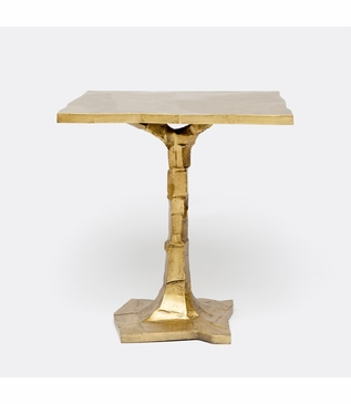 Bosque Side Table | Brass