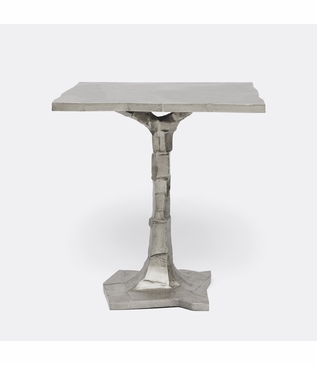 Bosque Side Table | Silver