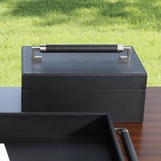 Brahms Leather Box | Black