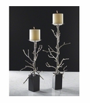 Branches Candlesticks | Nickel
