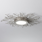 Branches Flush Mount | Nickel