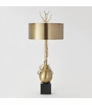 Branches Narrow Table Lamp | Brass