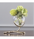Branches Single Vase | Brass