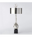 Branches Narrow Table Lamp | Nickel