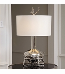 Branches Wide Table Lamp | Nickel