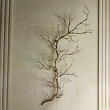 Branches Wall Sculpture | Brass