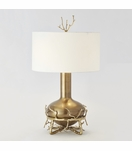 Branches Wide Table Lamp | Brass