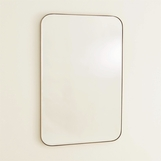 Branson Brass Wall Mirror