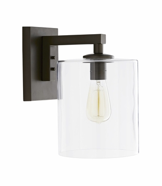 Bravado Outdoor Sconce | Dark Brass