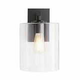 Bravado Outdoor Sconce | Dark Iron