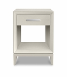 Brayden 1-Drawer Side Table, Painted