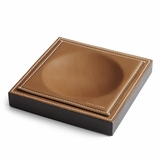 Brennan Leather Catchall Tray | Saddle