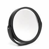 Brennan Leather Desk Mirror | Black