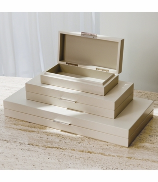 Brentwood Wood Boxes | Ivory