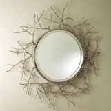 Briar Mirror | Nickel
