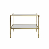Brighton Brass Side Table