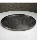 Bryson Grid Tray | Blackened Nickel