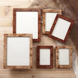 Burl Wood Frames | Sets of 2