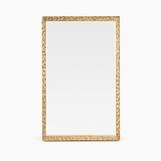 Burrell Rectangular Wall Mirrors | Brass