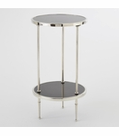 Cadette Table | Nickel