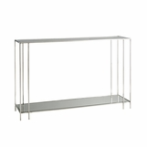 Cambry Nickel Console Table
