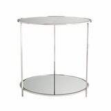 Cambry Nickel Side Table