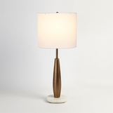 Camille Buffet Lamp | Pale Bronze