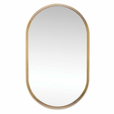 Canale Wall Mirror | Brass