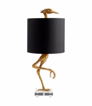 Canard Table Lamp | Gold