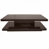 Cantilever Rectangular Coffee Table, Stained