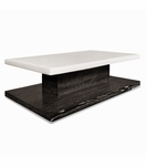 Cantilever Rectangular Ottoman, Stained