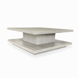 Cantilever Square Coffee Table, Stained