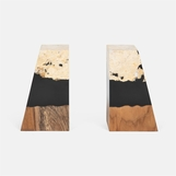 Capo Bookends | Teak & Stone