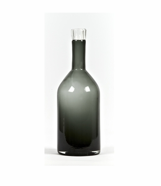 Capri Glass Bottle | Grey