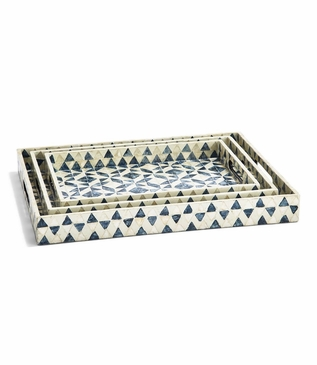 Carlotta Shell Trays Set