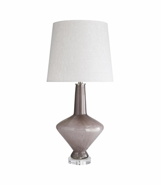 Carol Plum Glass Table Lamp