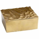 Carver Metal Box | Brass
