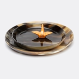 Cary Horn Trays Set | Round